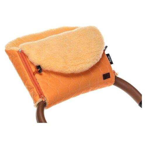 Купить Муфта меховая для коляски Nuovita Polare Pesco (Arancio/Оранжевый), Аксессуары для колясок и автокресел