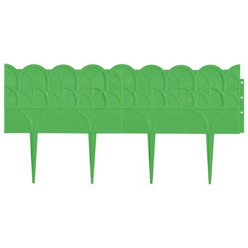 Бордюр PALISAD Прованс, зеленый, 3.1 х 0.14 м