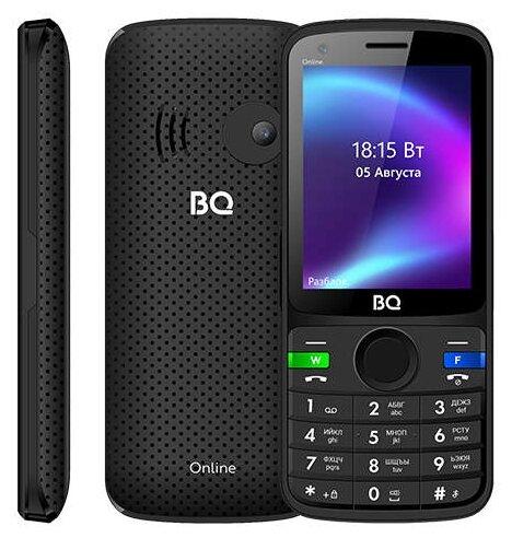 Мобильный телефон BQ 2800G Online, черный, синий