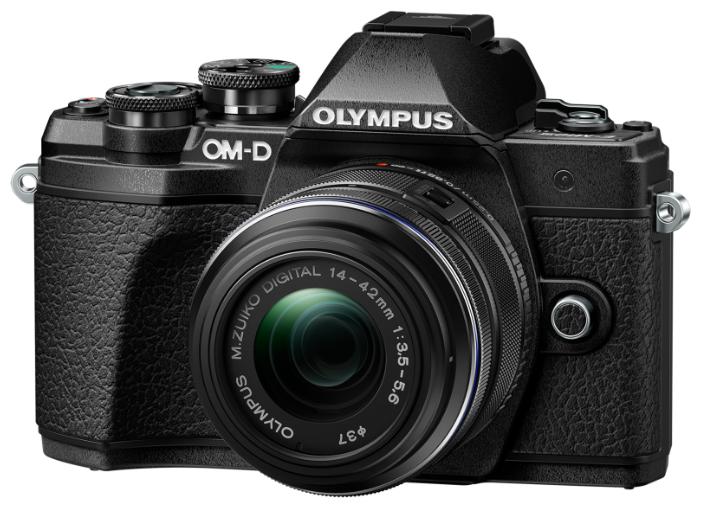 Фотоаппарат Olympus OM-D E-M10 Mark III Kit черный M.Zuiko Digital 14?42mm F3.5?5.6 II R фото 1