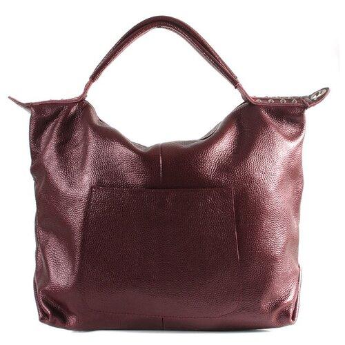 Сумка хобо Meyninger, натуральная кожа, бордовый сумка хобо amo la vita jk 92bwc 005 искусственная кожа
