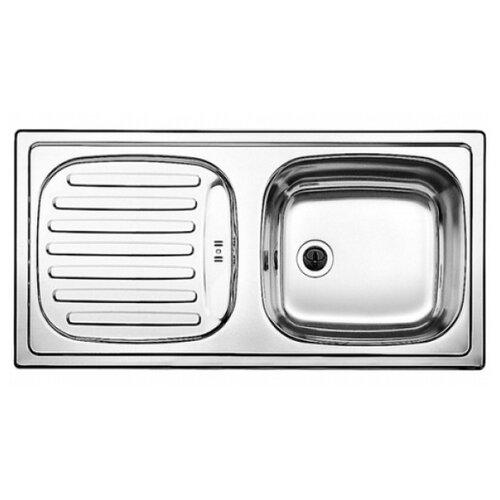 Фото - Врезная кухонная мойка 86 см Blanco Flex нержавеющая сталь/матовая кухонная мойка blanco flex mini 511918