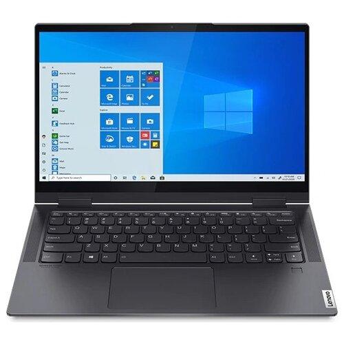 "Ноутбук Lenovo Yoga 7 14ITL5 (Intel Core i5 1135G7 2400MHz/14""/1920x1080/16GB/512GB SSD/Intel Iris Xe Graphics/Windows 10 Home) 82BH007RRU slate grey"
