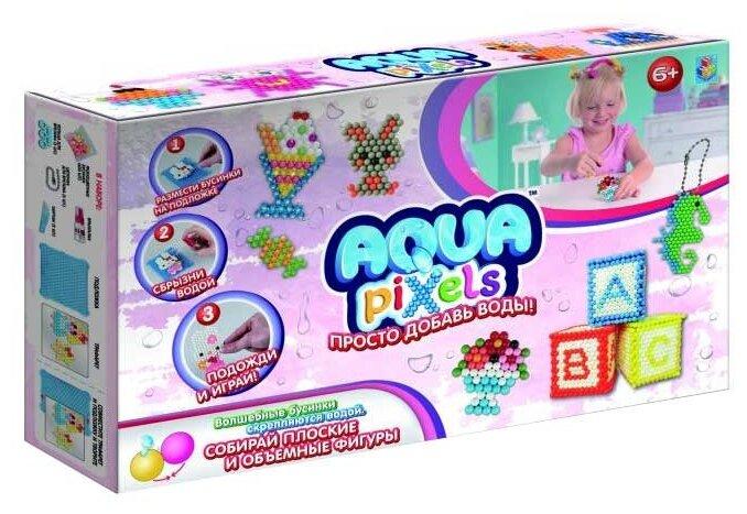 Набор для творчества 1 Toy Aqua pixels ''Набор принцессы'' 600 дет. Т12337