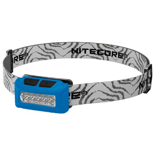 Налобный фонарь Nitecore NU10 CRI синий