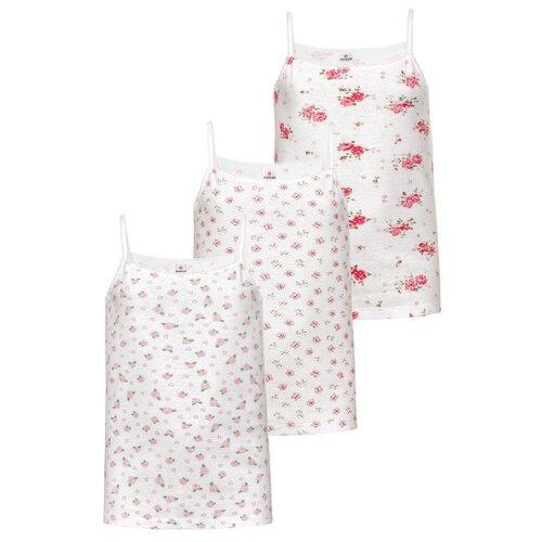 Купить Майка BAYKAR размер 146/152, розовый/белый, Белье и купальники