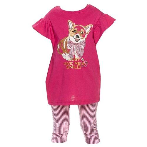 цена на Комплект одежды Pelican размер 2, малиновый