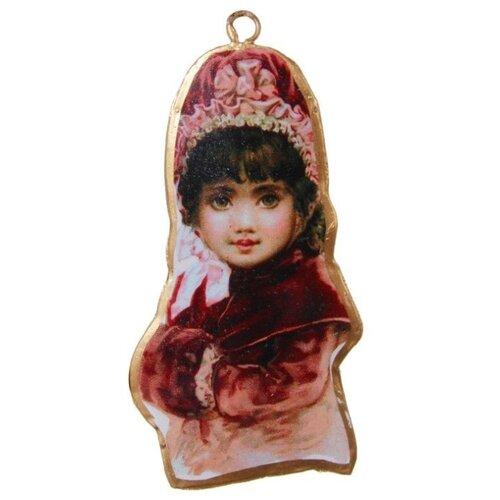 Елочная игрушка SHISHI 45207, розовый