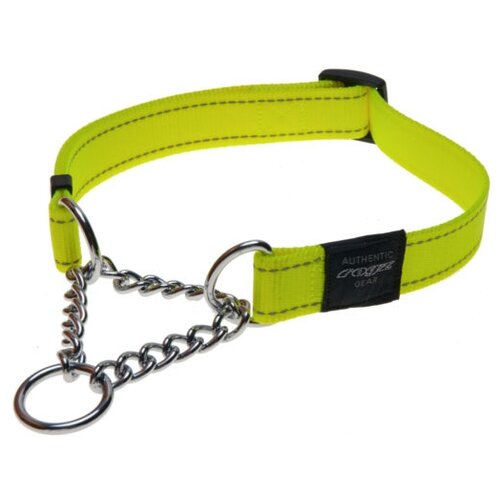 Ошейник-удавка Rogz Utility L (HC06) 34-56 см желтый