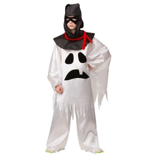 Купить Костюм Батик Приведение (6070), белый/черный, размер 140, Карнавальные костюмы