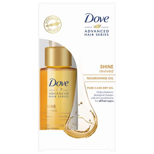Dove Сухое масло для волос Преображающий уход, 50 мл сухое масло 60 мл