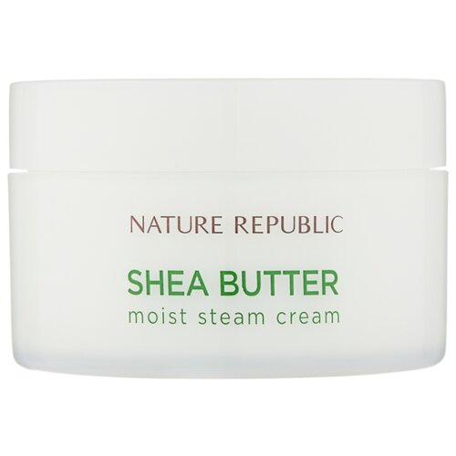 NATURE REPUBLIC Shea Butter Moist Steam Cream Увлажняющий паровой крем для лица, 100 мл платье love republic love republic lo022ewpdo73