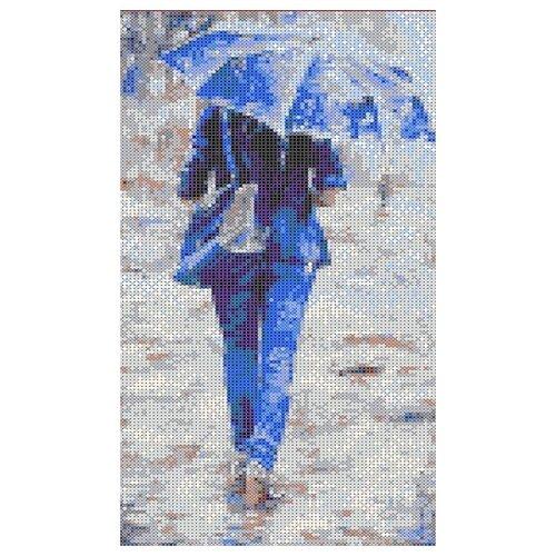 Купить К судьбе Рисунок на ткани 17, 6х35, 5 Каролинка ТКБЛ 3002, Канва