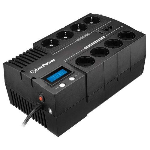 Интерактивный ИБП CyberPower BR1200ELCD черный