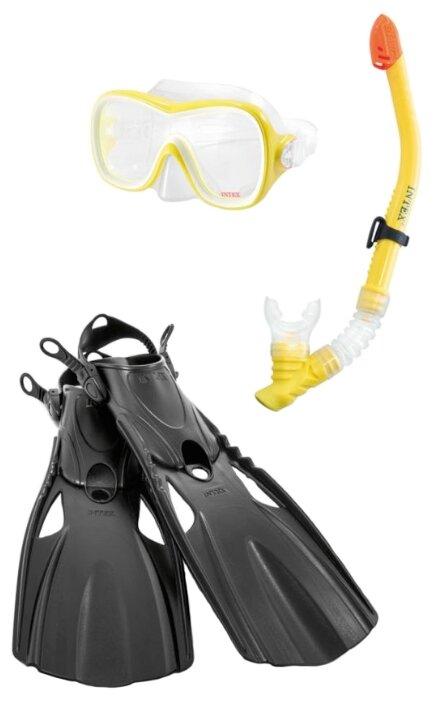 Набор для плавания с ластами Intex Wave rider sports