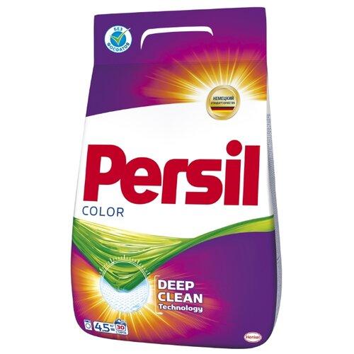 Стиральный порошок Persil Color пластиковый пакет 4.5 кг persil стиральный порошок expert color автомат 1 5 кг