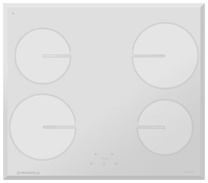Индукционная варочная панель MAUNFELD MVI 59.4HZ.2BT WH