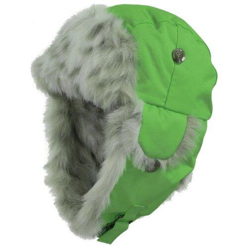 Шапка-ушанка Huppa размер 55, 037 зеленый