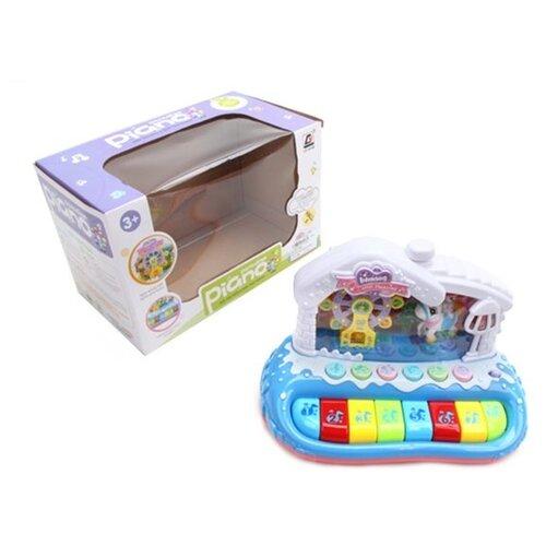 Купить Музыкальная игрушка Наша Игрушка Орган Волшебная карусель, свет, звук (CY-7018B), Наша игрушка, Развивающие игрушки