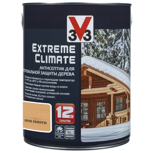 V33 Extreme Climate белое золото 2.5 л