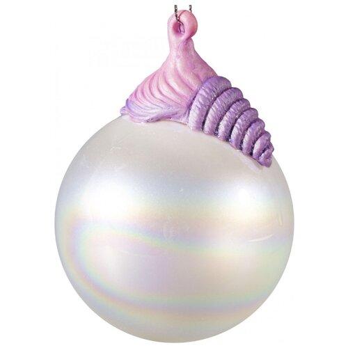 Елочная игрушка Magic Time Ракушка (80361) розовый