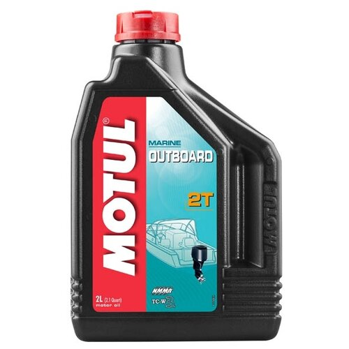 Моторное масло Motul Outboard 2T 2 л motul outboard tech 4t 10w30 2л