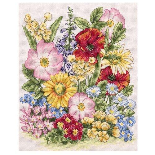 Купить Anchor Набор для вышивания Луговые цветы 25 х 20 см (PCE961), Наборы для вышивания