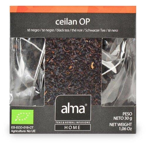 Чай черный Alma Home цейлонский Organic 15х1.86 чай черный alma home эрл грей organic 27 9 г