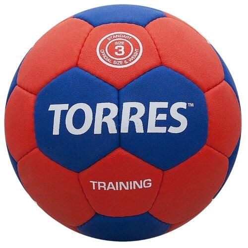 Мяч для гандбола TORRES H30053 красный/синий