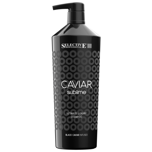 Selective Professional шампунь Caviar Sublima Ultimate Luxury для оживления ослабленных волос 1000 мл с дозатором фото