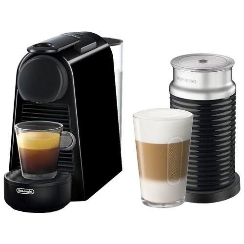 Кофемашина De'Longhi Nespresso Essenza Mini EN 85 AE черный кофемашина капсульная de'longhi nespresso essenza mini en 85 bae