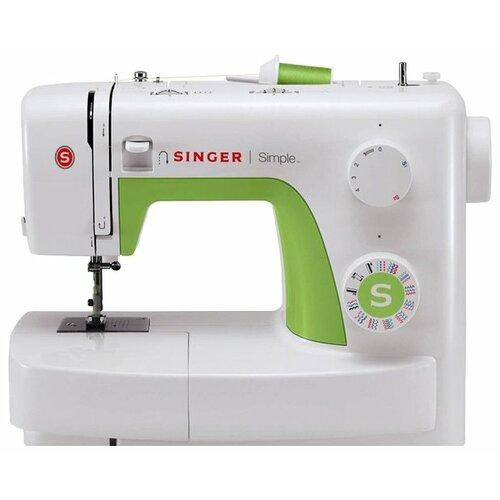 Швейная машина Singer Simple 3229, бело-зеленый недорого