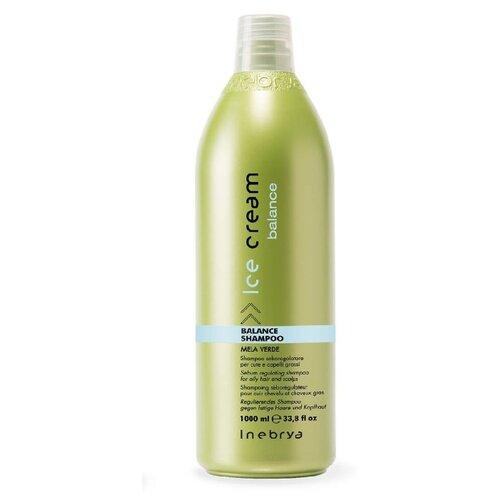Купить Шампунь для волос себорегулирующий для жирной кожи головы INEBRYA R+B+E+C, 1000 мл.