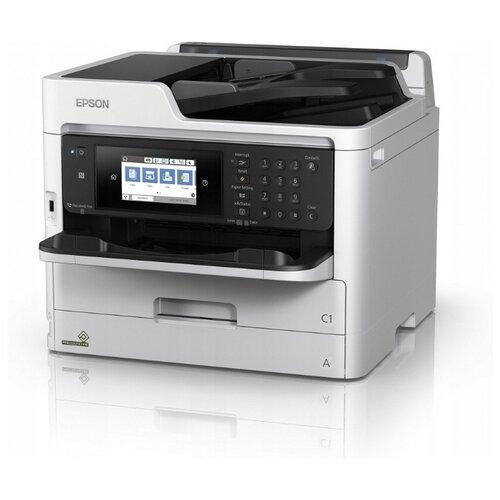 МФУ Epson WorkForce Pro WF-M5799DWF, белый/черный