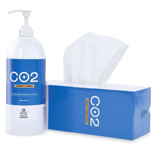 Набор для тела Ribeskin Carboxy CO2 combo, 1500 мл