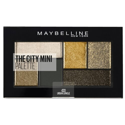 Maybelline New York Палетка теней для век The city mini 420 urban jungle недорого