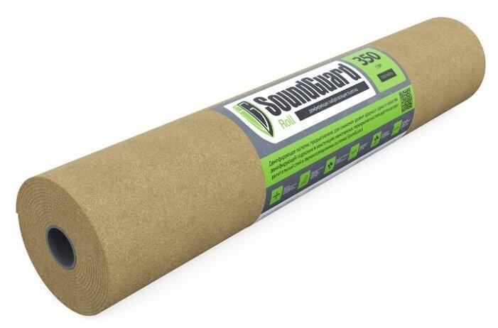 Купить Подложка демпферная SoundGuard Roll - 1 м, толщина 3,5 мм (15 м2 в уп) по низкой цене с доставкой из Яндекс.Маркета (бывший Беру)