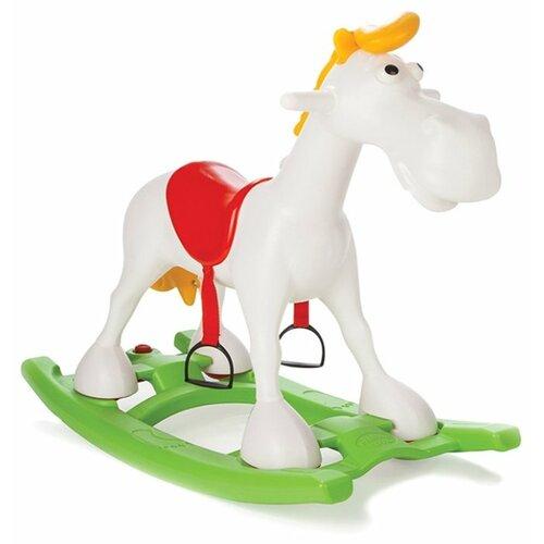 Купить Качалка pilsan Lucky Horse (07911) белый/зеленый/красный, Каталки и качалки