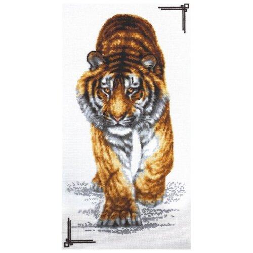 Купить Набор Поступь тигра 25х47 Палитра 02.002, Наборы для вышивания