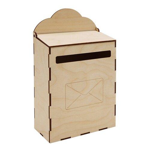 Купить Astra & Craft Деревянная заготовка для декорирования Почтовый ящик L-947 береза, Декоративные элементы и материалы