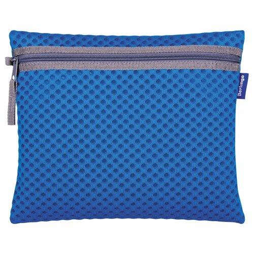 Berlingo Папка для тетрадей Color А5, текстиль, на молнии синий berlingo папка на молнии berlingo lama а5