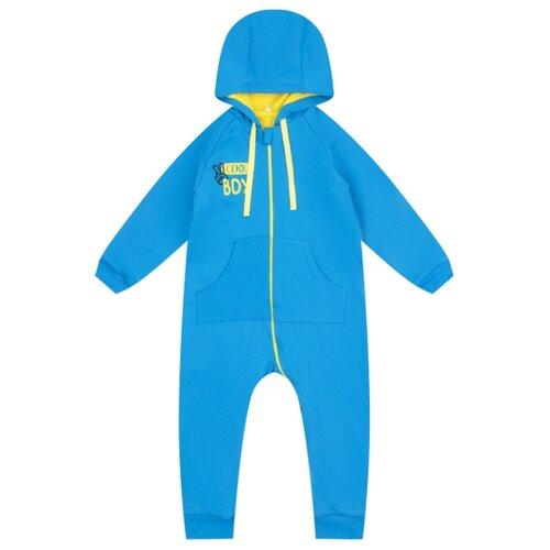 Купить Комбинезон Leader Kids размер 74, голубой, Комбинезоны