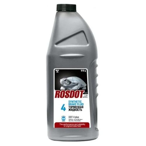 Тормозная жидкость ROSDOT DOT-4 Synthetic 430101Н03 0.91 л