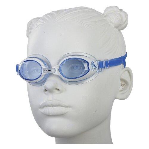 Очки для плавания Larsen DR15 синий