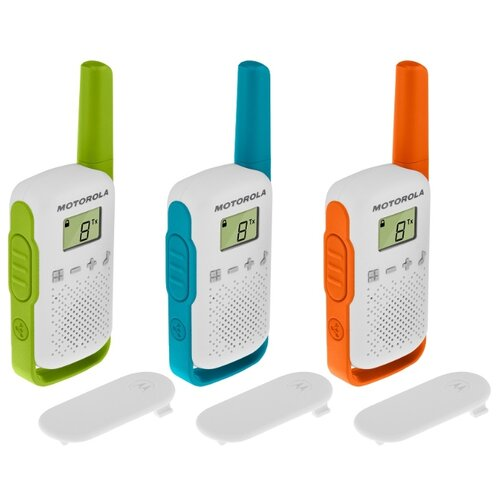 Рация Motorola Talkabout T42 Triple зеленый/голубой/оранжевый