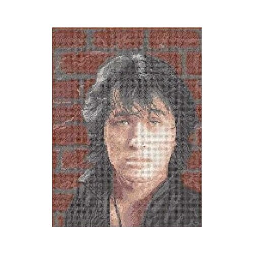 Купить Виктор Цой Рисунок на ткани 27, 2х36, 1 Каролинка ТКБЛ 3027, Канва