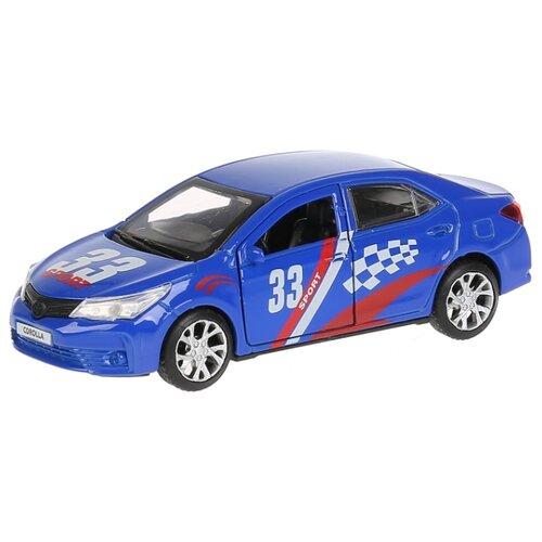 цена на Легковой автомобиль ТЕХНОПАРК Toyota Corolla Спорт (COROLLA-S) 12 см синий