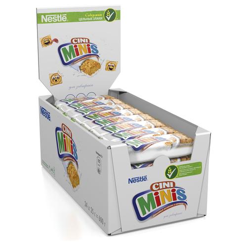 Злаковый батончик Cini Minis из квадратиков с корицей, 24 шт недорого