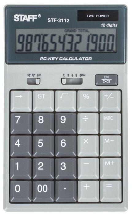 Калькулятор настольный STAFF STF-3112