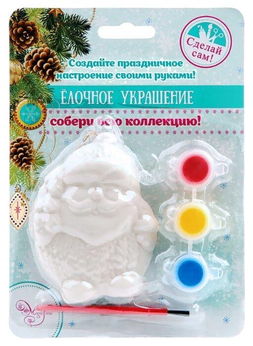 Феникс Present Новогоднее подвесное украшение Пузатый Снеговик